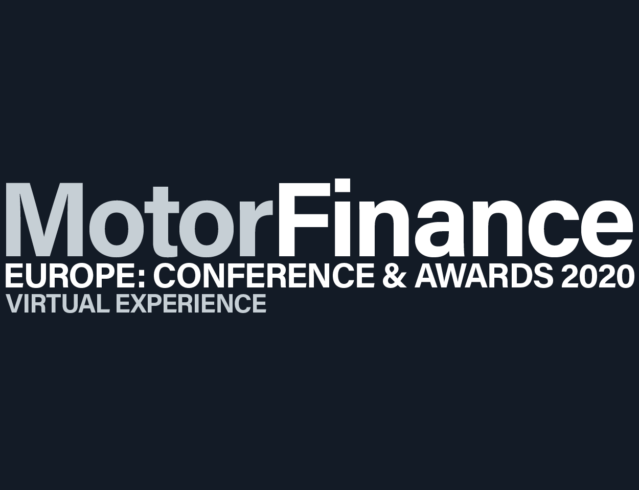 Motor Finance Europe: Conference & Awards – Virtual Experience