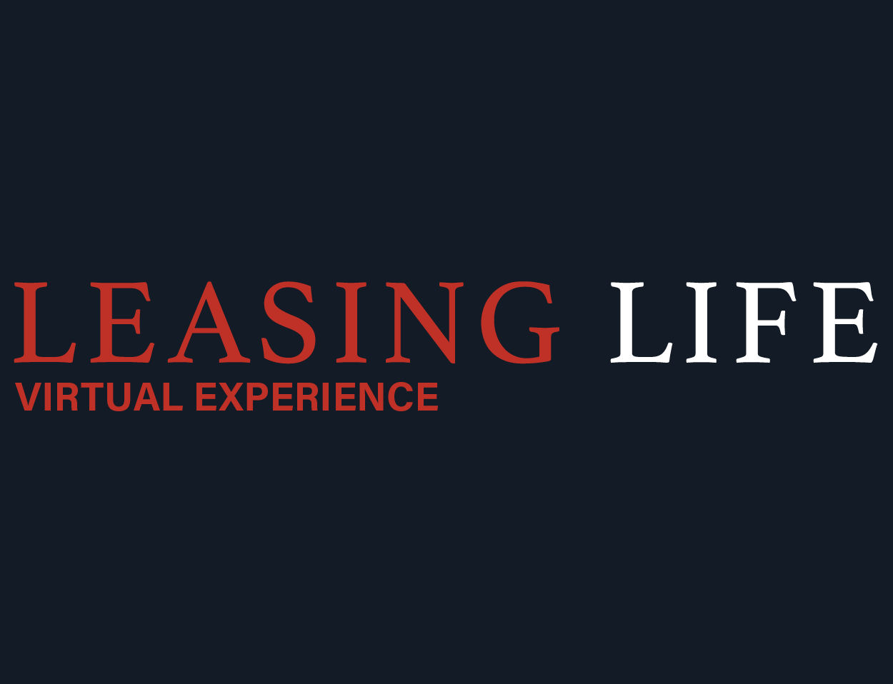 Leasing Life – Virtual Conference & Awards